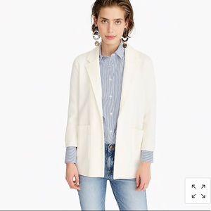 J crew Sophie open-front sweater-blazer size S